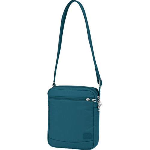 Pacsafe Citysafe CS150 Anti-Theft Cross Body Shoulder Bag (Teal)