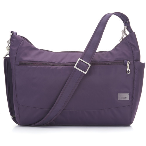 Pacsafe Citysafe CS200 Anti-Theft Handbag (Mulberry)