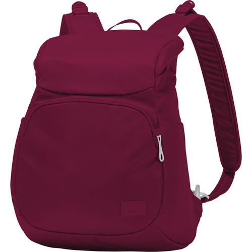 Pacsafe Citysafe CS300 Anti-Theft Compact Backpack (14.9L, Cranberry)