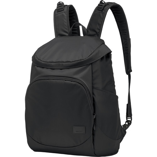 Pacsafe Citysafe CS350 Anti-Theft Compact Backpack (19L, Black)