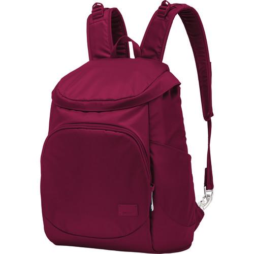 Pacsafe Citysafe CS350 Anti-Theft Compact Backpack (19L, Cranberry)