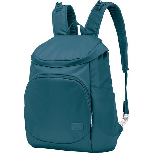 Pacsafe Citysafe CS350 Anti-Theft Compact Backpack (19L, Teal)