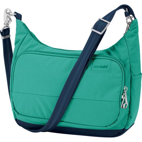 Pacsafe Citysafe LS100 Anti-Theft Travel Handbag (Lagoon)
