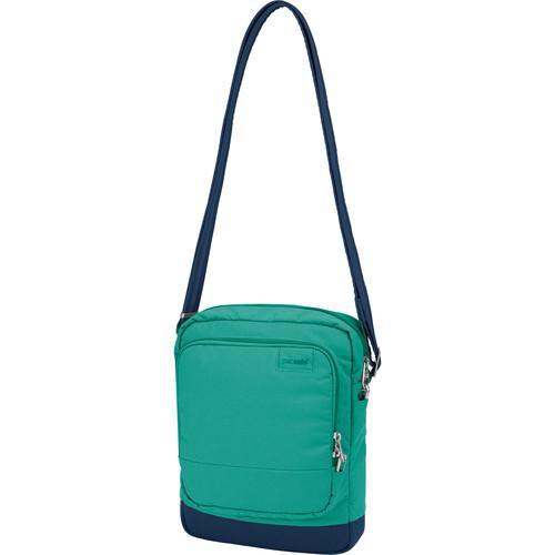 Pacsafe Citysafe LS150 Anti-Theft Cross Body Shoulder Bag (Lagoon)