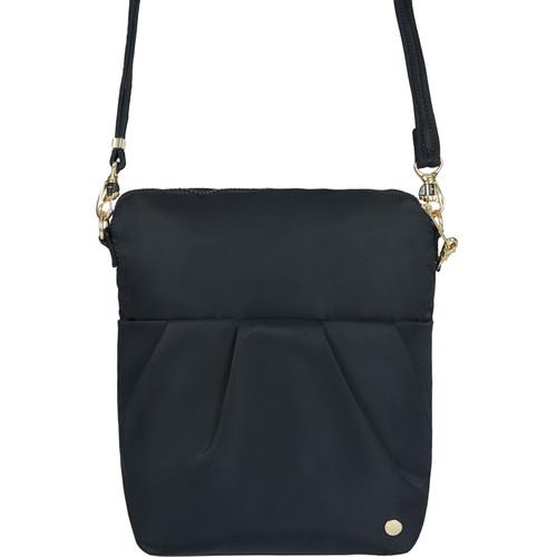Pacsafe Citysafe CX Convertible Anti-Theft Small Crossbody Bag (Black)