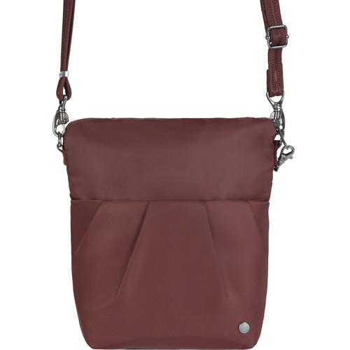 Pacsafe Citysafe CX Convertible Anti-Theft Crossbody Bag (Merlot)