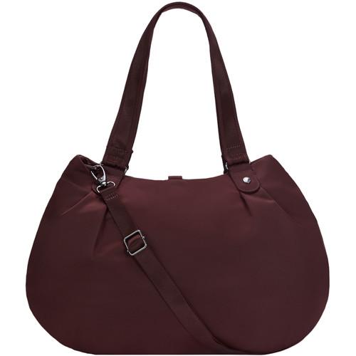 Pacsafe Citysafe CX Anti-Theft Hobo Bag (Merlot)