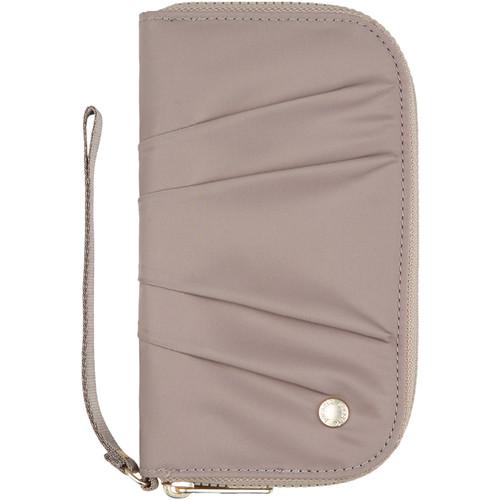 Pacsafe Citysafe CX Wristlet Wallet (Blush Tan)