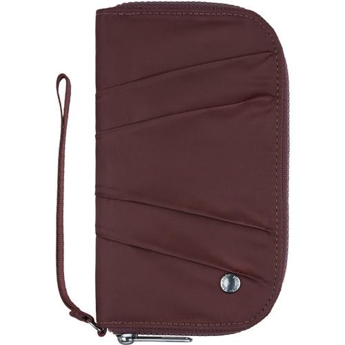 Pacsafe Citysafe CX Wristlet Wallet (Merlot)