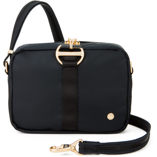 Pacsafe Citysafe CX Anti-Theft Square Crossbody Bag (Black)