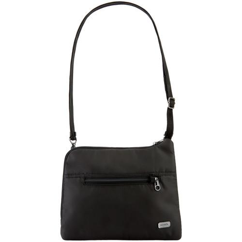 Pacsafe Daysafe Anti-Theft Slim Crossbody Bag (Black)