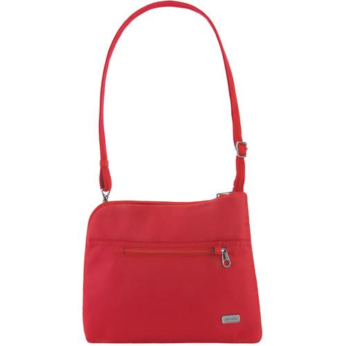 Pacsafe Daysafe Anti-Theft Slim Crossbody Bag (Baked Apple)