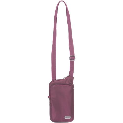 Pacsafe Daysafe Anti-Theft Tech Crossbody Bag (Blackberry)