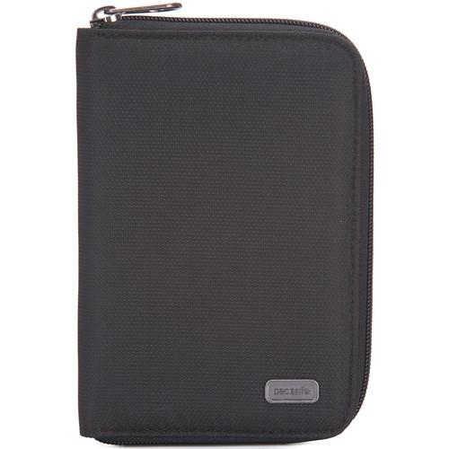 Pacsafe Daysafe Passport Wallet RFID Blocking (Black)