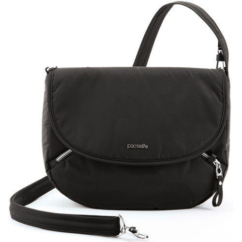 Pacsafe Stylesafe Anti-Theft Crossbody Bag (Black)