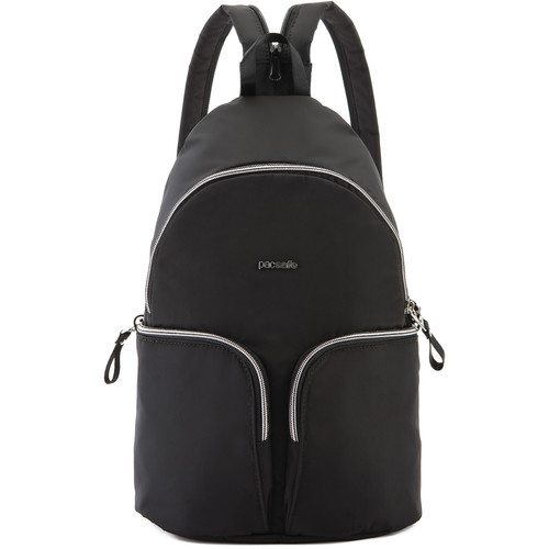 Pacsafe Stylesafe Anti- Theft Convertible Sling To Backpack (Black)