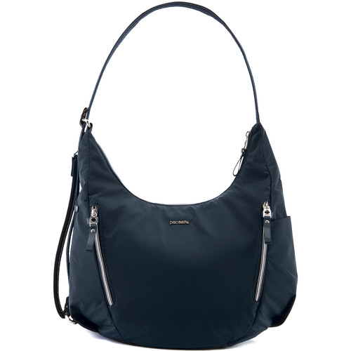Pacsafe Stylesafe Anti-Theft Convertible Length Crossbody (Navy)