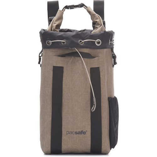Pacsafe Travelsafe Dry 15L Backpack Anti-Theft Waterproof (Sand)