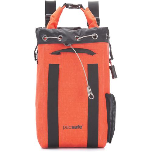 Pacsafe Dry 15L Anti-Theft Portable Safe (Orange)