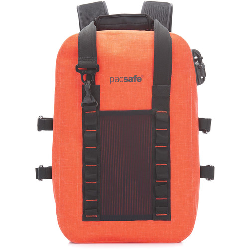 Pacsafe Dry 25L Anti-Theft Backpack (Orange)
