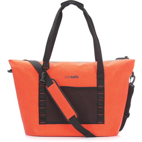 Pacsafe Pacsafe Dry Anti-Theft Splashproof Beach Bag (Orange)