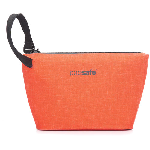 Pacsafe Dry Anti-Theft Stash Bag (Orange)