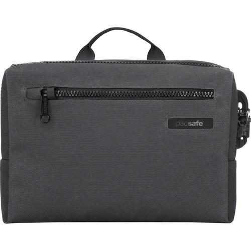 Pacsafe Intasafe Brief Anti-Theft Cross-Body Laptop Bag (Charcoal)