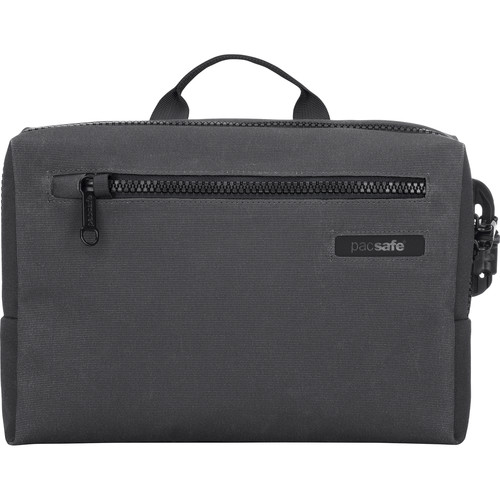 Pacsafe Intasafe Brief Anti-Theft Cross-Body Laptop Bag (Charcoal)