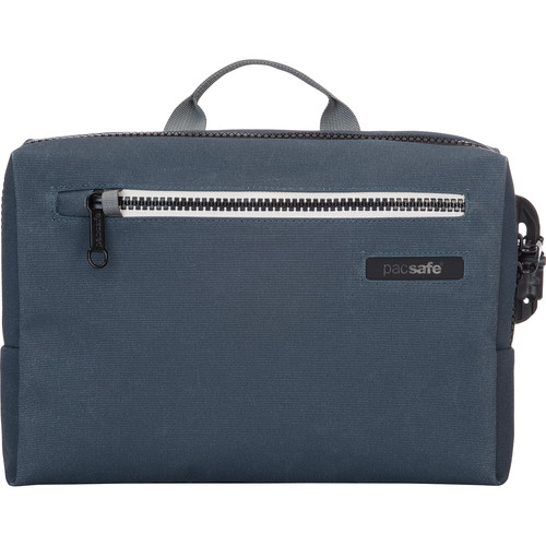 Pacsafe Intasafe Brief Anti-Theft Cross-Body Laptop Bag (Navy)