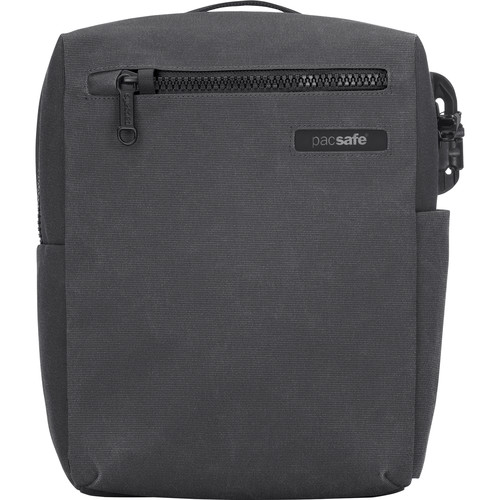 "Pacsafe Intasafe Crossbody Anti-Theft Bag for 10"" Tablet (Charcoal)"