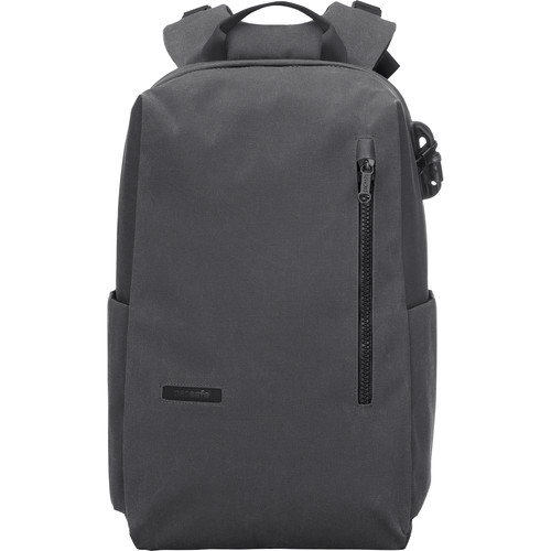 """Pacsafe Intasafe 20L Anti-Theft Backpack for 15"""" Laptop (Charcoal)"""