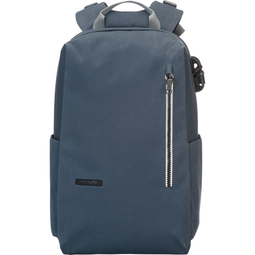 """Pacsafe Intasafe 20L Anti-Theft Backpack for 15"""" Laptop (Navy)"""