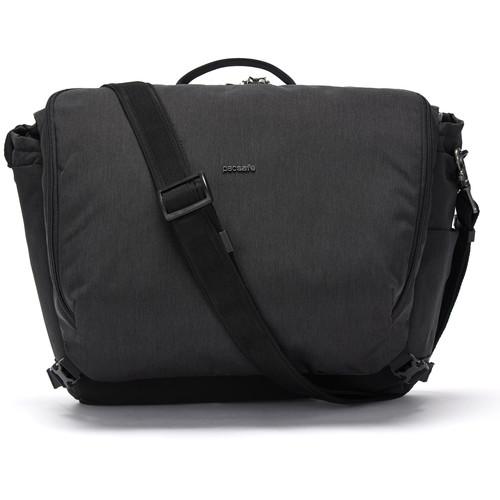 """Pacsafe Intasafe X Anti-Theft 13"""" Laptop Messenger Bag (Black)"""