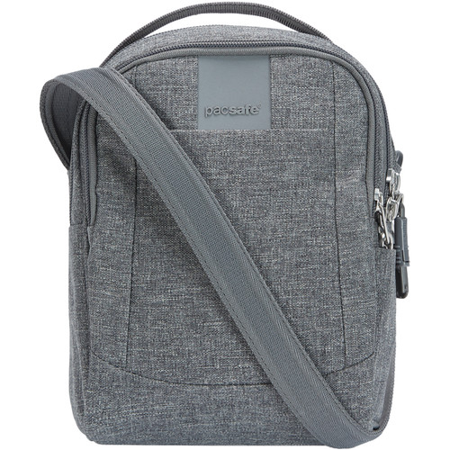 Pacsafe Metrosafe LS100 Anti-Theft Crossbody Bag (Dark Tweed)