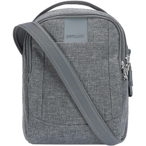 Pacsafe Metrosafe LS100 Anti-Theft Crossbody Bag (Dark Tweed)