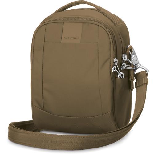 Pacsafe Metrosafe LS100 Anti-Theft Cross-Body Bag (Sandstone)