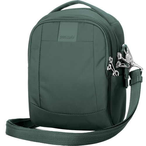 Pacsafe Metrosafe LS100 Anti-Theft Cross-Body Bag (Pine Green)