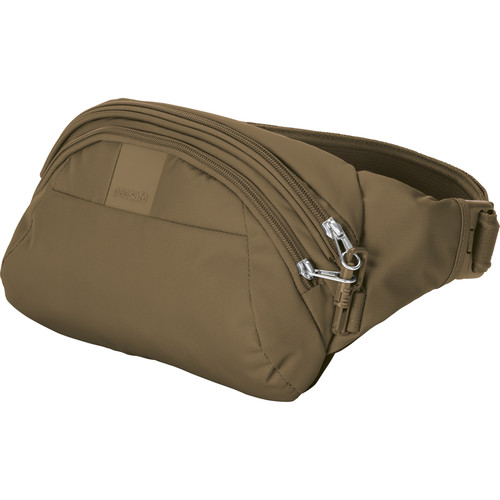 Pacsafe Metrosafe LS120 Anti-Theft Hip Pack (Sandstone)