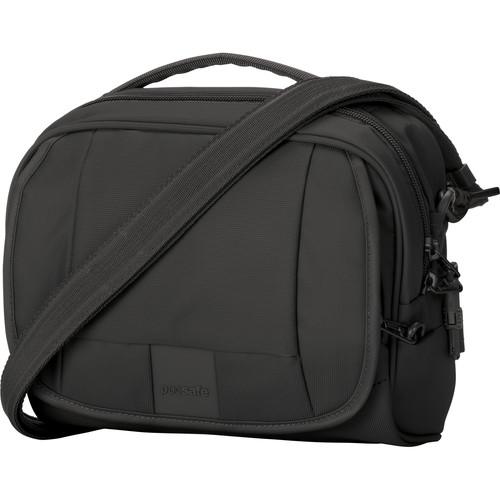 Pacsafe Metrosafe LS140 Anti-Theft Compact Shoulder Bag (Black)