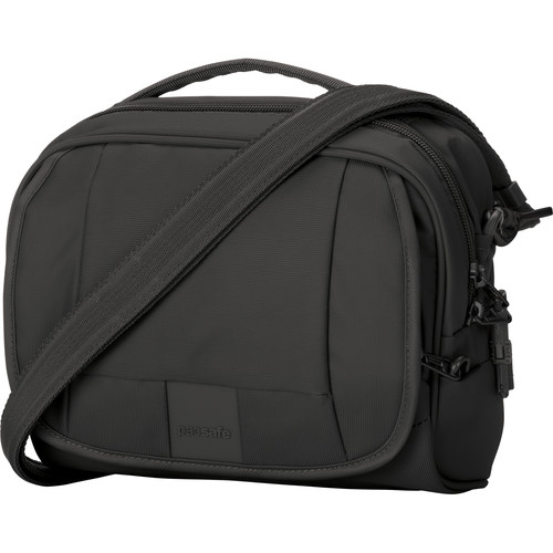 Pacsafe Metrosafe LS140 Anti-Theft Compact Shoulder Bag (Black)