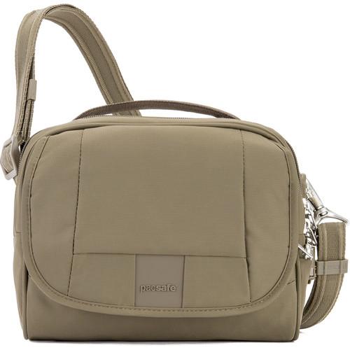 Pacsafe Metrosafe LS140 Anti-Theft Compact Shoulder Bag Earth (Khaki)