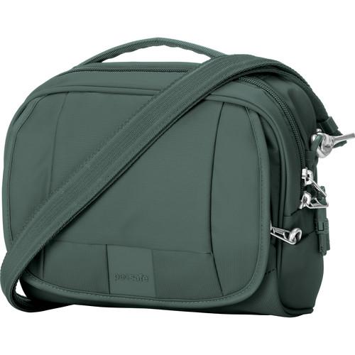 Pacsafe Metrosafe LS140 Anti-Theft Compact Shoulder Bag (Pine Green)