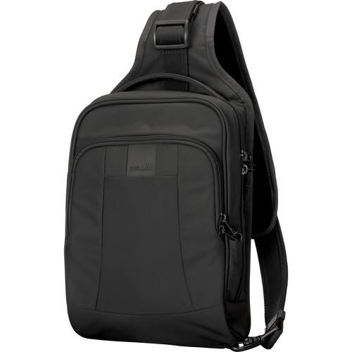 Pacsafe Metrosafe LS150 Anti-Theft Sling Backpack (Black)