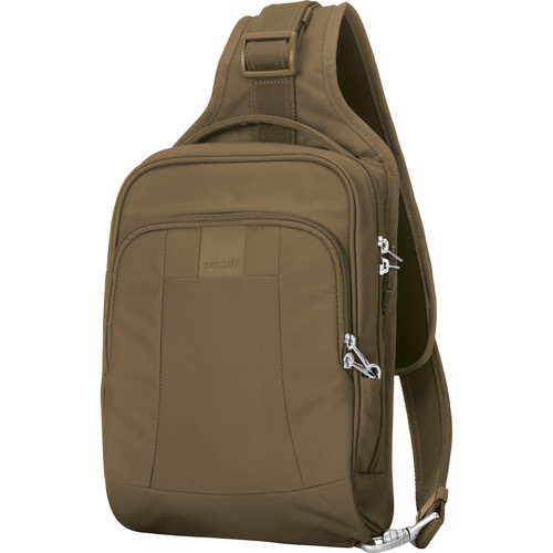 Pacsafe Metrosafe LS150 Anti-Theft Sling Backpack (Sandstone)