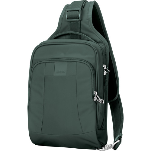 Pacsafe Metrosafe LS150 Anti-Theft Sling Backpack (Pine Green)