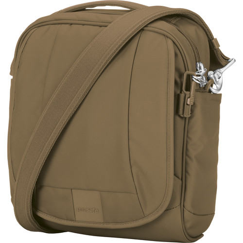Pacsafe Metrosafe LS200 Anti-Theft Shoulder Bag (Sandstone)
