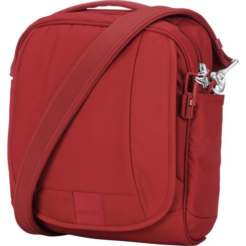 Pacsafe Metrosafe LS200 Anti-Theft Shoulder Bag (Vintage Red)