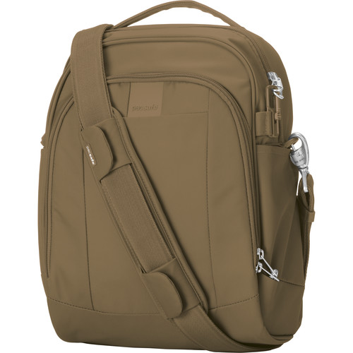 Pacsafe Metrosafe LS250 Anti-Theft Shoulder Bag (Sandstone)
