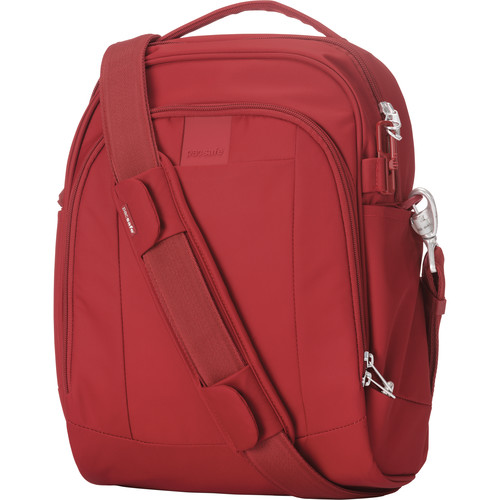 Pacsafe Metrosafe LS250 Anti-Theft Shoulder Bag (Vintage Red)