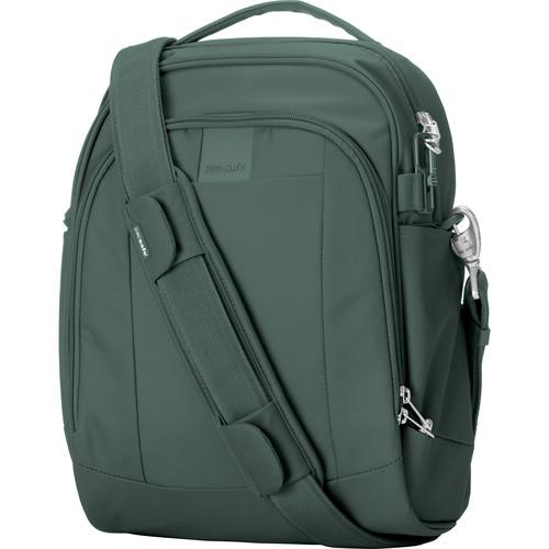 Pacsafe Metrosafe LS250 Anti-Theft Shoulder Bag (Pine Green)